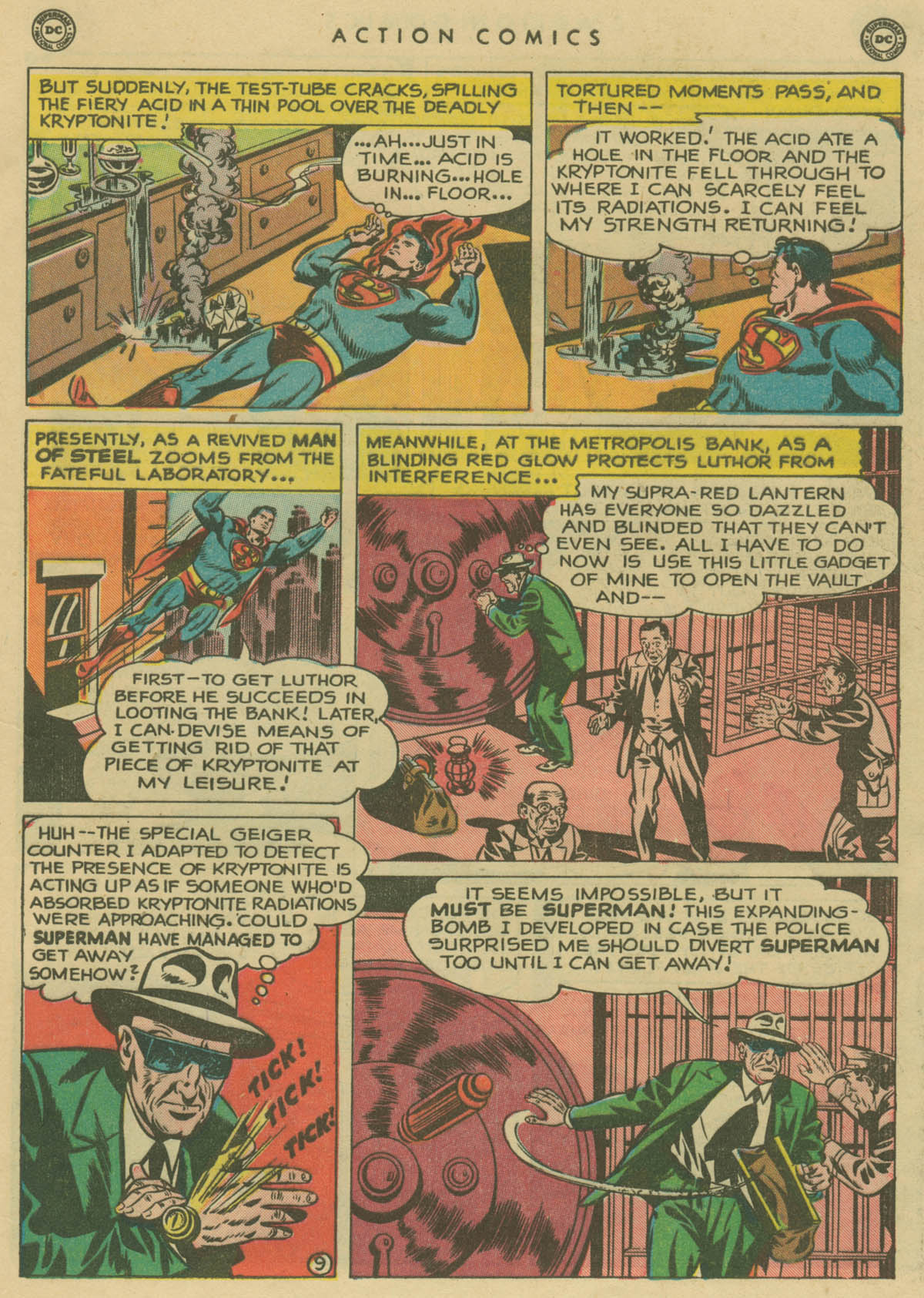 Read online Action Comics (1938) comic -  Issue #141 - 10