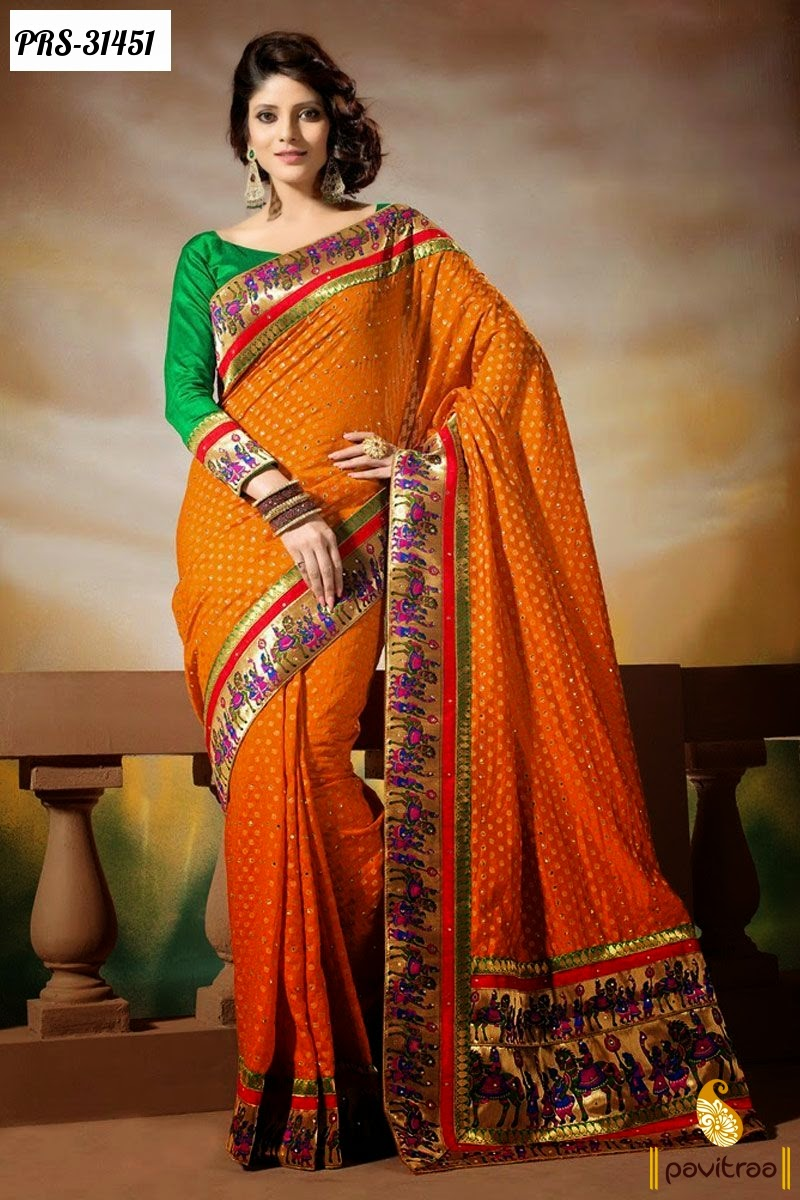 Party Wear Sarees Online Shopping India  Women Clothing -6320