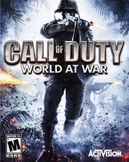 Call of Duty World at War Cover Logo Banner
