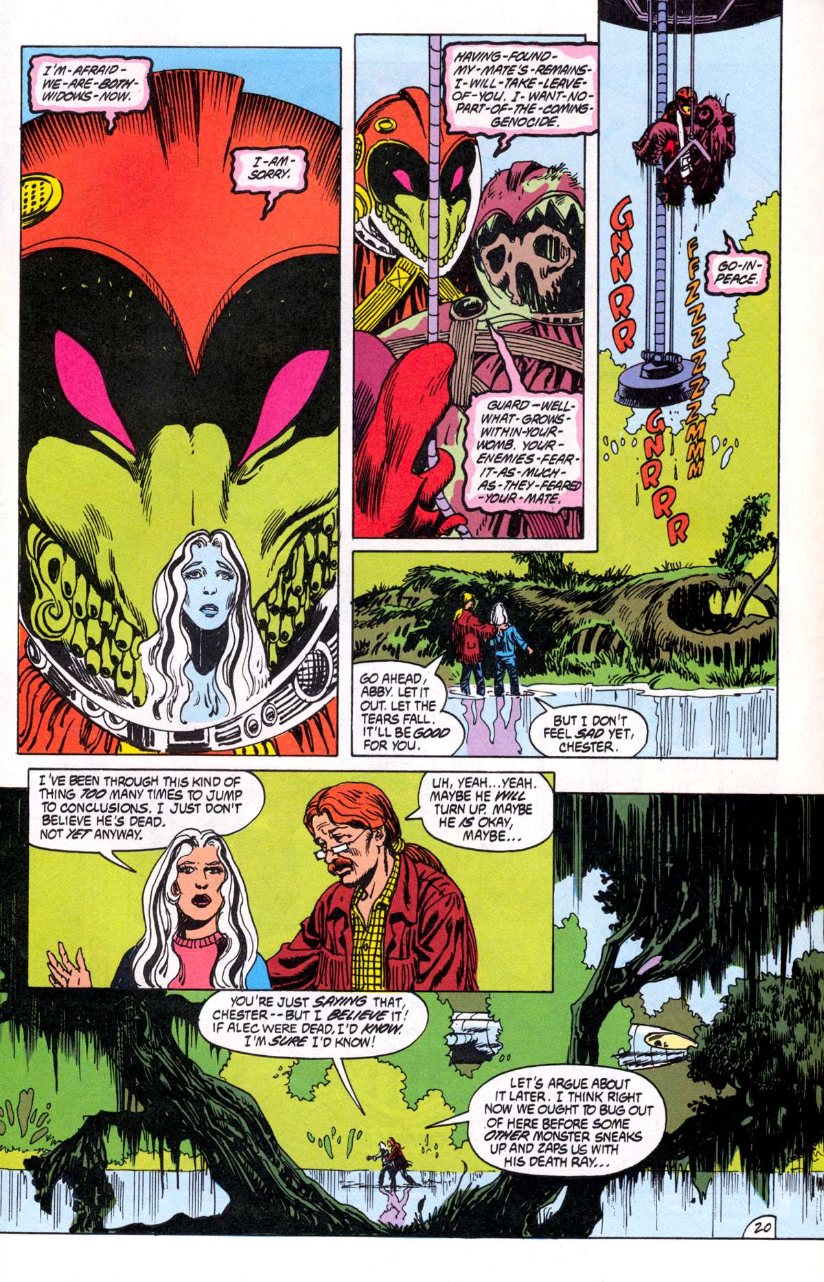 Swamp Thing (1982) Issue #81 #89 - English 21