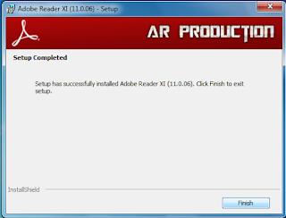 Cara Instalasi Adobe Reader Beserta Gambar