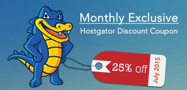 HostGator Maximum Discount Code October 2015 -25% off : eAskme