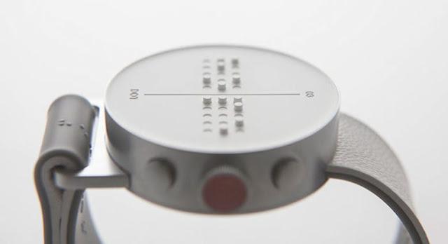 SmartWatch Braille permitirá que las personas ciegas sientan los mensajes