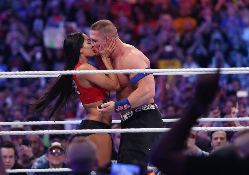 Nikki Bella & John Cena Back Together? ROH Star Spotted At RAW