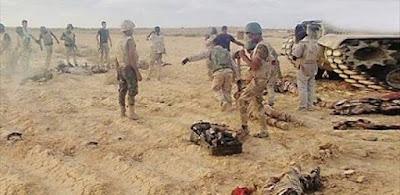الجيش يصفي 15 ارهابي