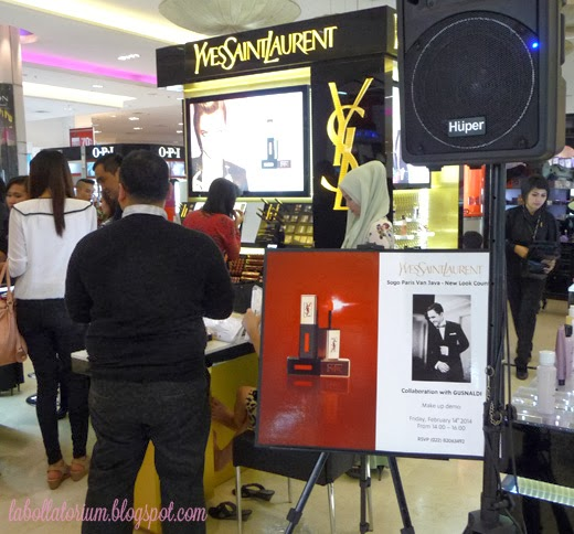 Beauty Event - Romancing with YSL (Yves Saint Laurent) at Sogo PVJ Bandung