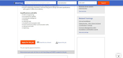 HOW TO ACCESS RECRUITER EMAIL ADDRESS OR DIRECT WEBSITE ON JOBBERMAN