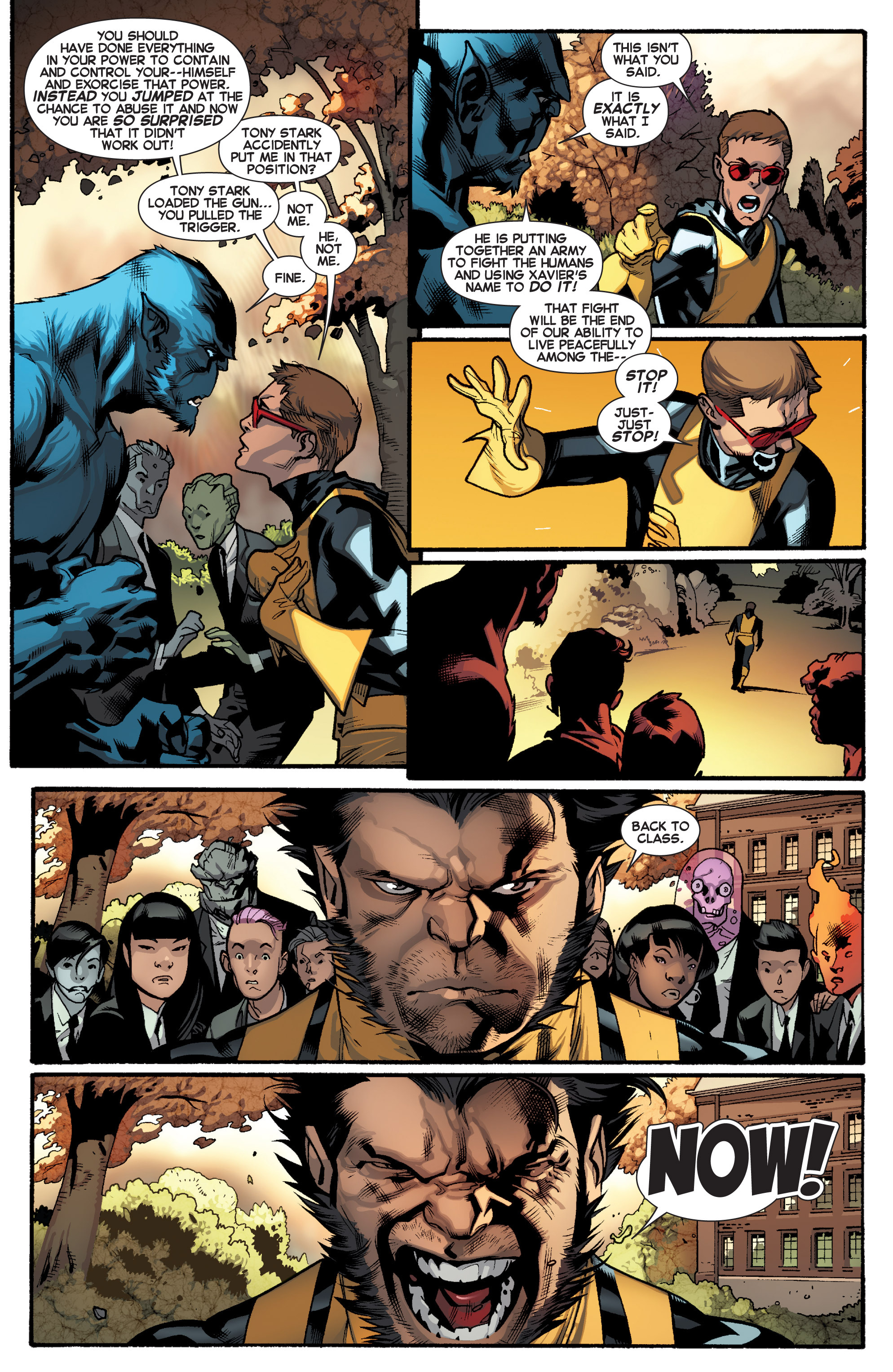 Read online All-New X-Men (2013) comic -  Issue # _Special - Here To Stay - 100