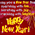 New Year Wishes messages status
