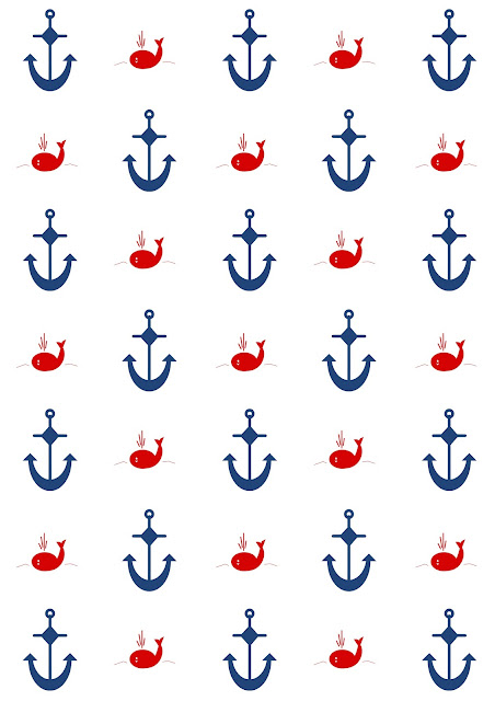 Free digital nautical scrapbooking papers - ausdruckbares ...