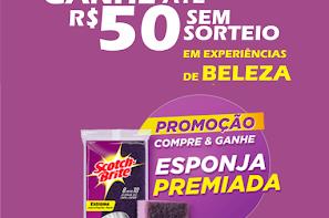 fc7fa6566 click · Promoção Esponja Scotch-Brite - Ganhe Até R$ 50 Em Experiências De  Beleza