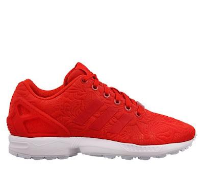 adidas ZX Flux - Vivid Red en #TiendaFitzrovia