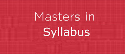 Nu Master's Programs Syllabus useful 2013-2014 Season