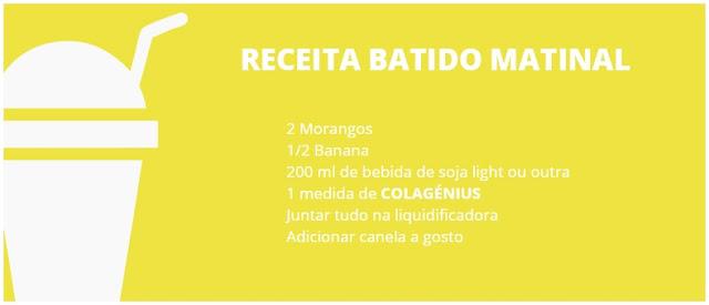 COLAGÉNIUS | Batido Matinal.