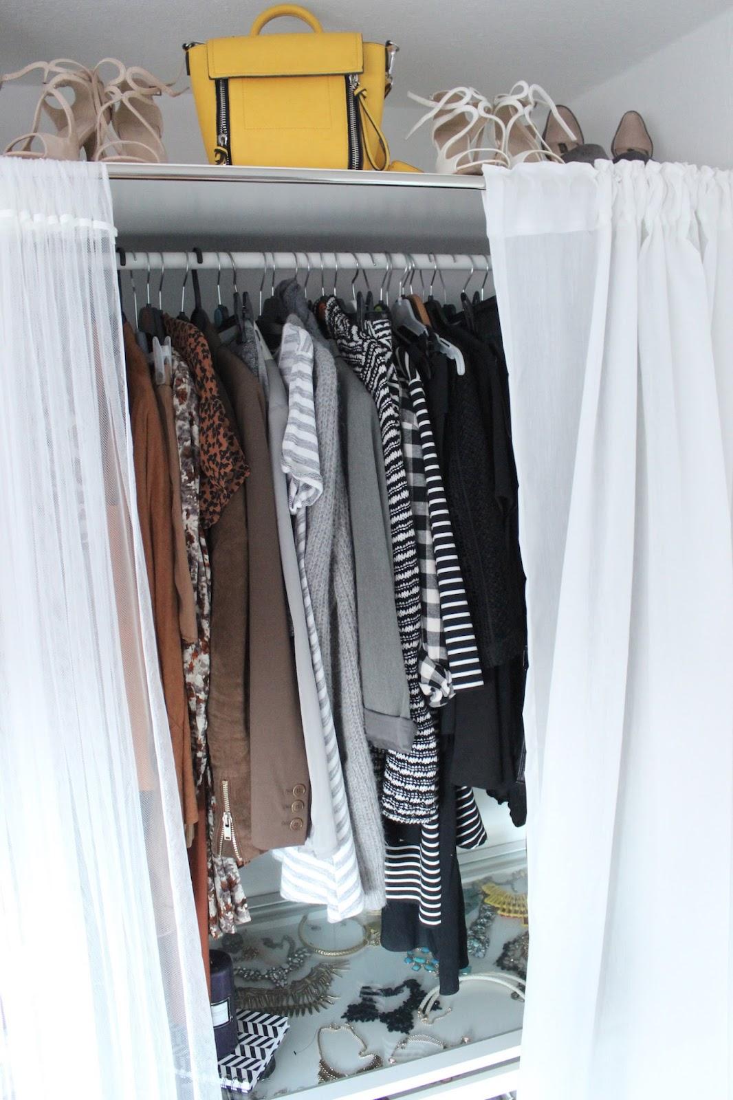 Interior 6 Organizing Hacks Of My Wardrobe The Blonde Lion