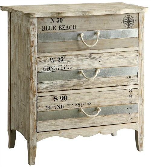 Beach Word Cabinet
