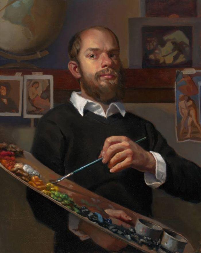 Американский художник. Stephen Cefalo