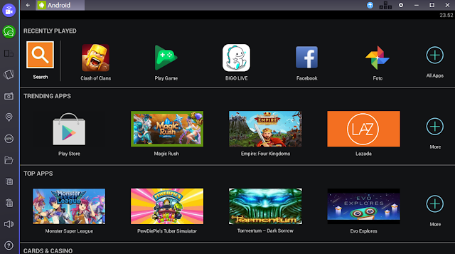 Download BlueStacks Pro v2.5.61.6289 Terbaru