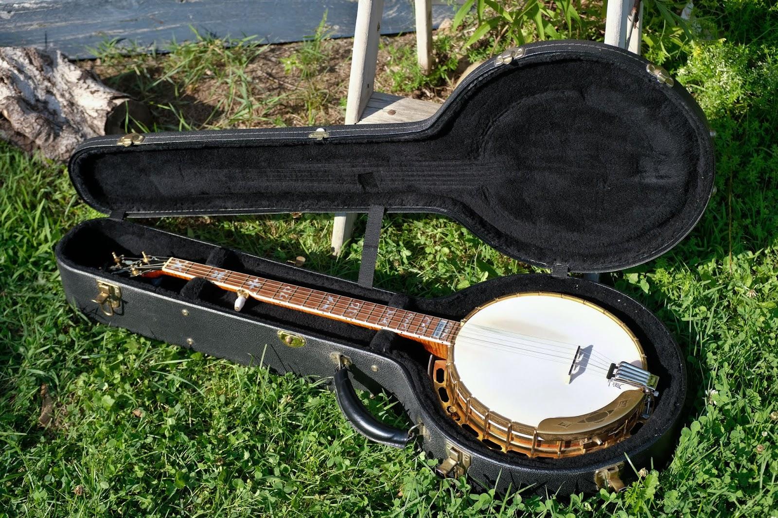 2003 Gibson Granada Mastertone 5-String Resonator Banjo