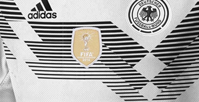 Se filtró la camiseta titular adidas de Alemania para Rusia 2018