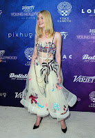 Elle Fanning best red carpet dresses at Variety Power of Young Hollywood Event in Los Angeles