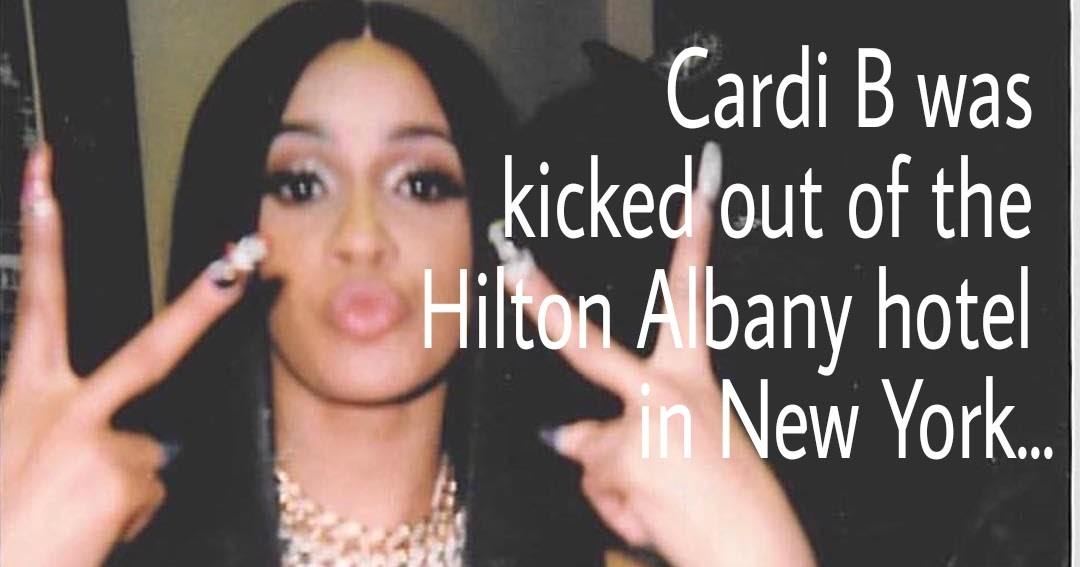Cardi B Explains Why Her Baby Is Named Kulture On Twitter: Cardi B. Explains Why She Got Kicked Out Of Hotel And She