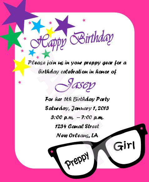 Nerdy Wedding Invites: Solutions...Event Design By Kelly: Preppy/Nerdy Birthday