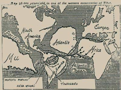 atlantis karte Excalibur: Atlantis   alte Karte