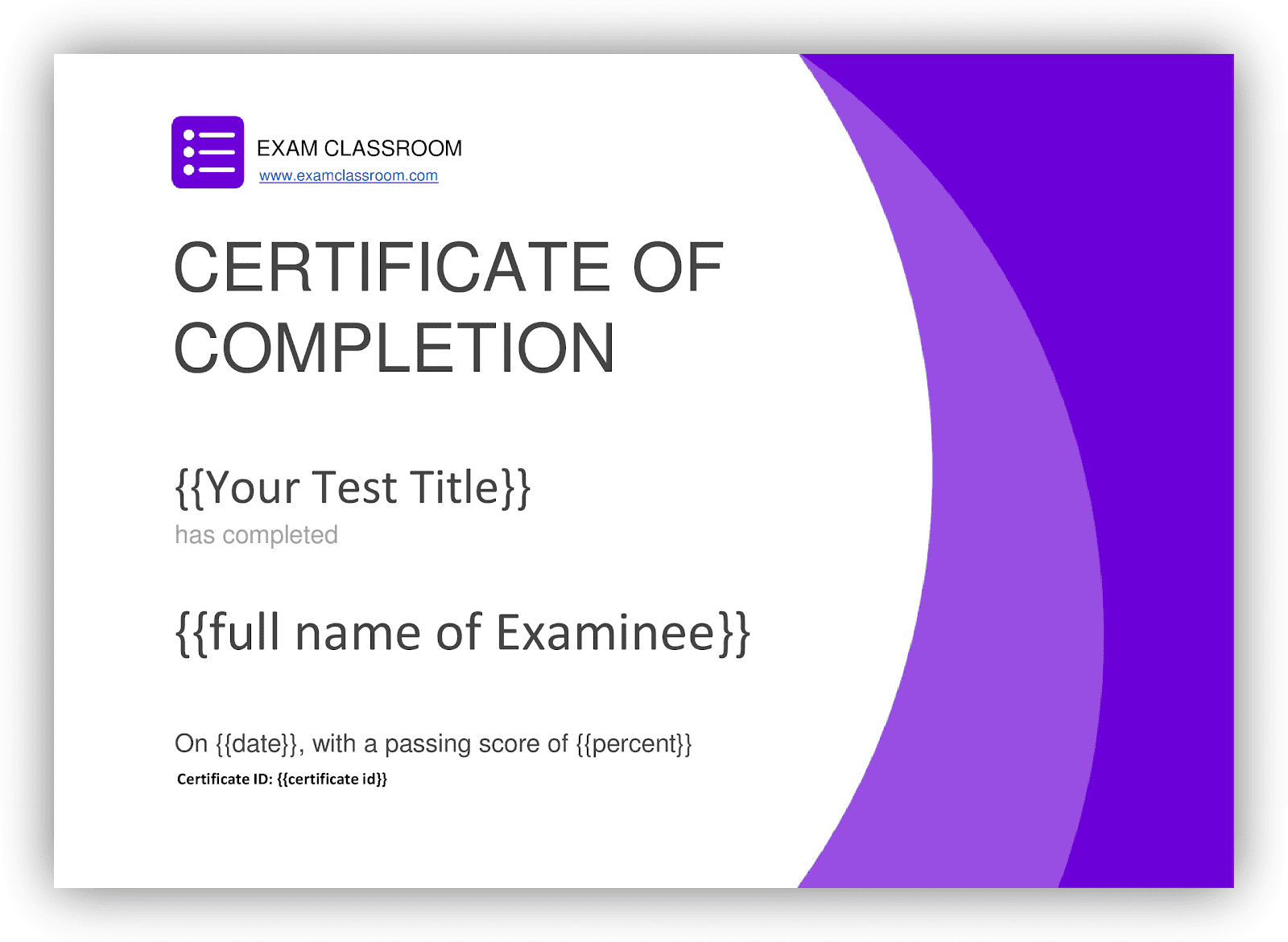 About Certification Test