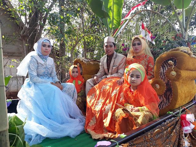 Beberapa kenangan Karnaval di Desa Tegalbang Palang Tuban 2018