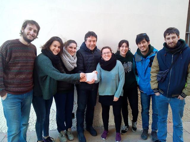 L'Esplai la Geltrú fa donació de la recol·lecta a Càritas Interparroquial de Vilanova i la geltrú