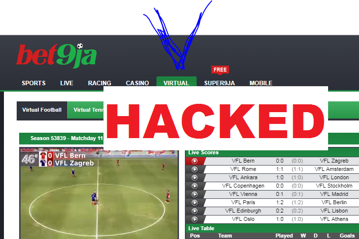 HACK BET9JA VIRTUAL FOOTBALL AND MAKE 100K DAILY