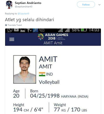 20 Plesetan Nama Atlet Asian Games 2018 yang Kocaknya Receh Parah