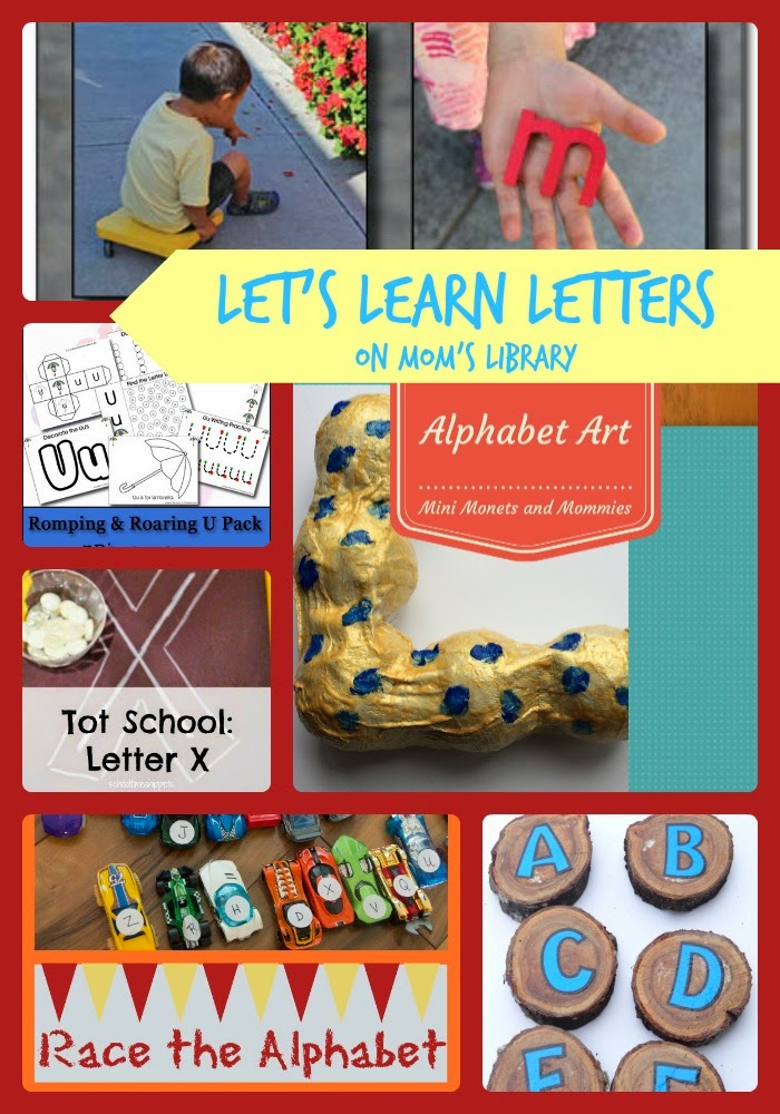 Let's Learn Letters on Mom's Library