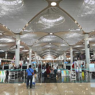 Lapangan Terbang Antarabangsa Istanbul (IST), Turki Yang Besar Amat