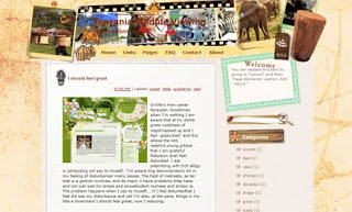 Tanzania Wildlife Viewing Blogger Template