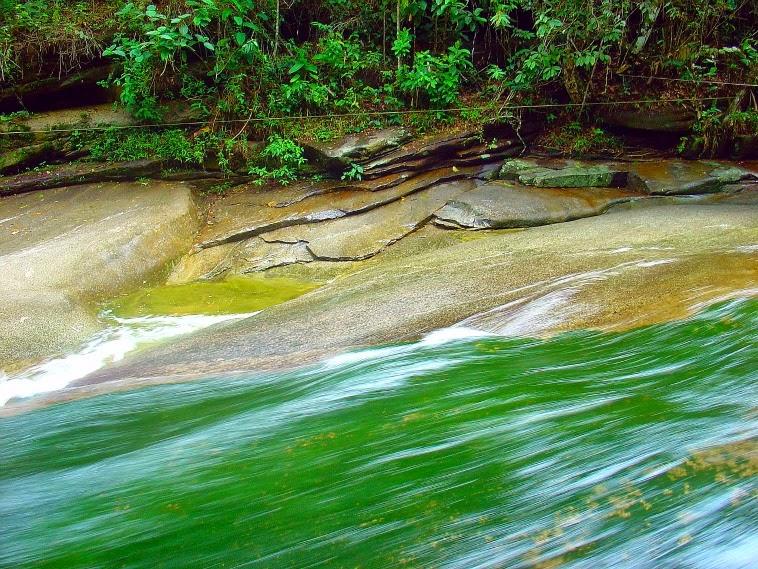 Toboágua da Cachoeira do Escorrega, Sana
