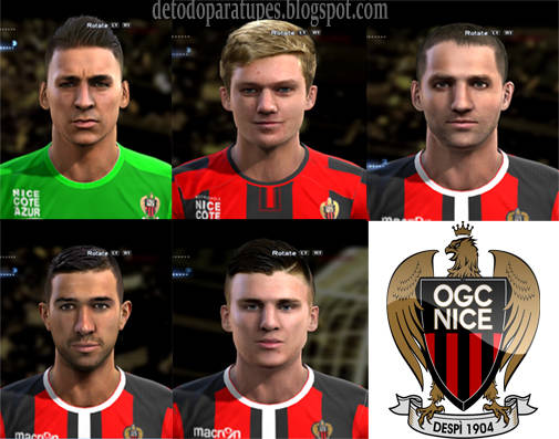 PES 2013 Mini Facepack OGC Nice By Bradpit62