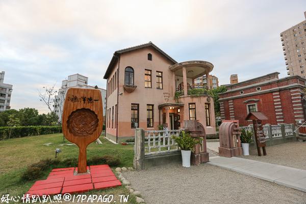 台中北屯|一德洋樓(林懋陽故居)-歷史建築轉變為藝文空間