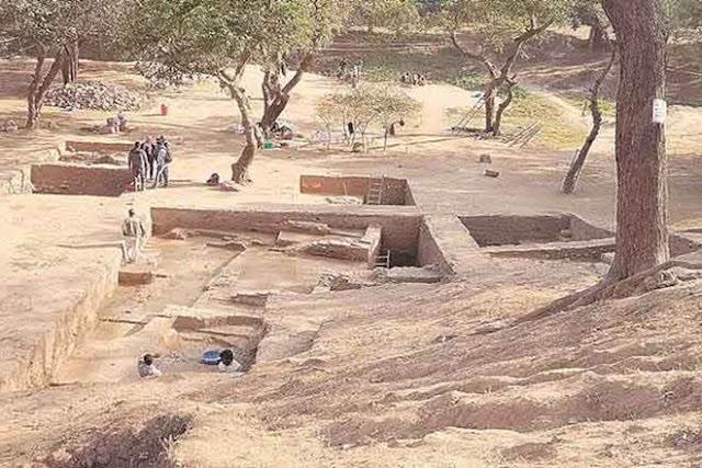 Capital of Vakataka dynasty excavated in India's Nagpur