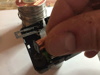 Remove the element from the coil and flip it on it's axis