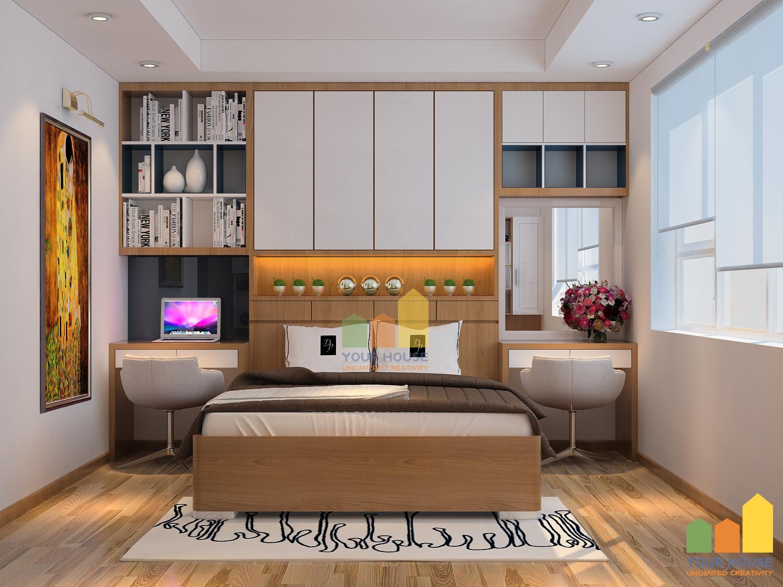 Thiết kế nội thất đẹp: Phòng ngủ đẳng cấp đến từ sự đơn giản