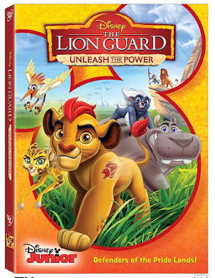 the lion guard disney dvd unleash the power