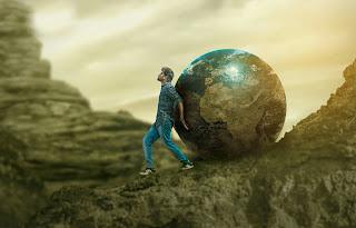 Earth Ball..| swappy pawar photo editing..