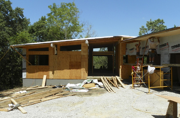 Mid Century Modern Home Progresses