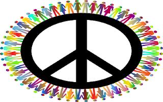 Simbolo pace nel mondo