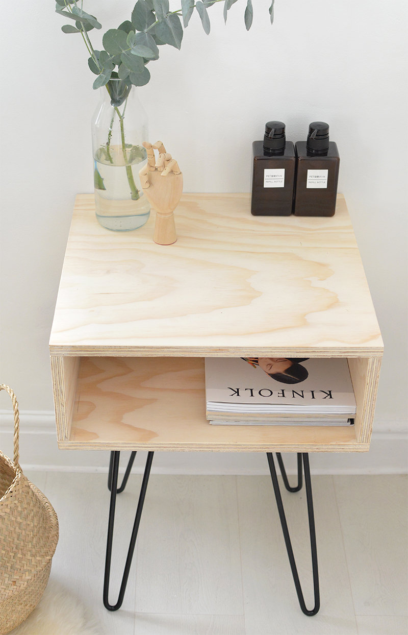 DIY eames style nightstand