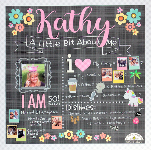 Doodlebug Design: All About Me Challenge