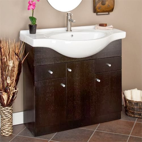 Small Bathroom Cabinets Ideas: Vanities For Small Bathrooms