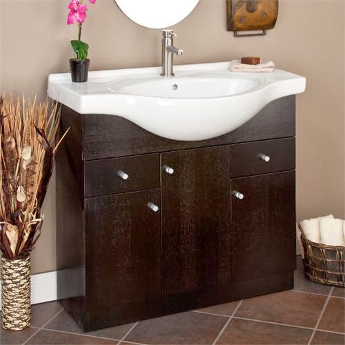 vanities small bathrooms for